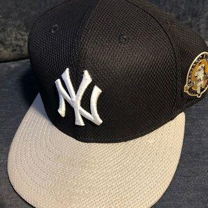 New York Yankees Authentic BP 7 3/8 Mariano Rivera